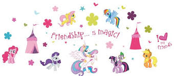 My Little Pony St0634 St0634 My Little Pony Wall Stickers 39 Reusable Stickers Dfsdfsafdfdsafsf