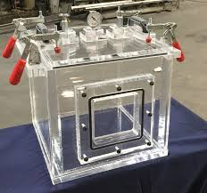 modified 14 inch cube vacuum chamber