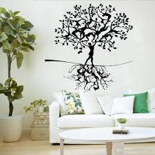 Human Tree Roots Wall Window Stickers Home Decor Decals People Branches Living Room Children Room Wall Decal Wallpapers Flower Wall Stickers Flowers Wall Stickers From Onlinegame 12 66 Dhgate Com