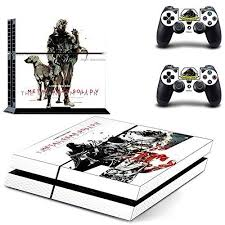 Metal Gear Solid World Exclusive Freesticker Ps4 Designer Skin Game Console 2 Controller Decal Vinyl Protective Cover Metal Gear Solid Metal Gear Ps4 Console