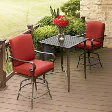 bistro dining set outdoor chairs white