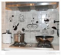 Cartoon Cute Happy Kitchen Food Wall Sticker Living Room Kitchen Restaurant Home Decoration Mural Art Decals Stickers Wallpaper Decor Designs Wall Decals Decor Stickers From Qiansuning88 2 79 Dhgate Com