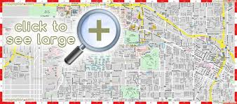 las vegas maps top tourist