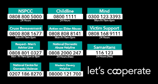 domestic violence charities supported