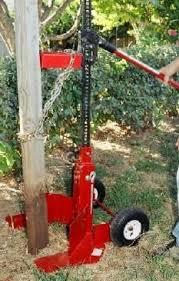 Bigredpostpuller Tools Equipment Post Fencing Fence Diy Deck Homemade Tools