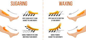 sugar wax vs traditional waxing bare