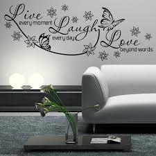 Live Laugh Love Wall Decor Picture Frames Hanging Art Stickers Decals Target Large Simply Often Deeply Vinyl For Cars Vamosrayos