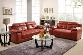 homelegance zane sofa 9718red 3 san