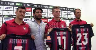 Crotone Calcio | Presentati Vido, Mustacchio e Mazzotta ...