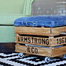 repurpose old wooden crates