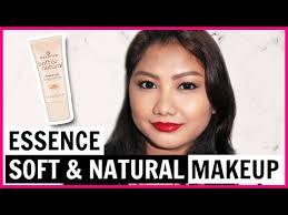 essence soft natural makeup review