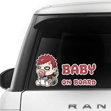 Gaara Baby On Board Series For Car Hello Kitty Baby Minion Baby Hello Kitty Baby Shower