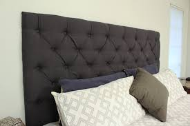 diy tufted king headboard