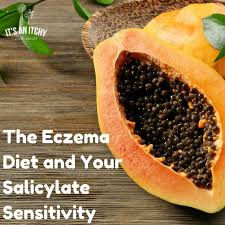 the eczema t and your salicylate