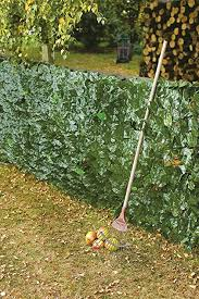 The Good Life Artificial Ivy Vine Hedge Screening Fence 1m X 3m Amazon Co Uk Garden Outdoors