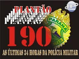 Olho Aberto Paraná: Confiram as ocorrências policiais atendidas ...