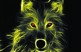 Neon Wolf Design Skins And Wraps Mightyskins