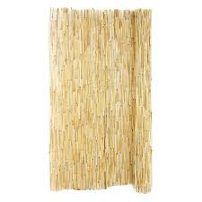 Backyard X Scapes 6 Ft H X 16 Ft L Reed Fencing 4 Pack Hdd Bin Rf01 4 The Home Depot
