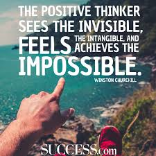 moving quotes about the power of positive thinking success