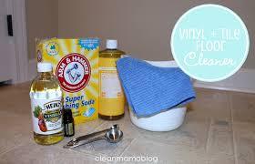 diy homemade cleaners vinyl tile