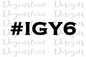 Igy6 Vinyl Decal Igy6 I Ve Got Your Six Vinyl Decal Etsy In 2020 Math Math Equations Everything