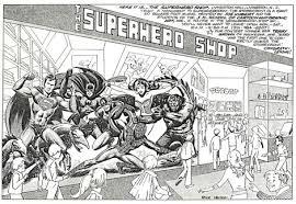 Rick Veitch » Hero's World Mural
