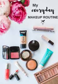 my everyday makeup routine one