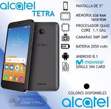 Alcatel Tetra 16gb 2gb Ram Android 8.1 ...
