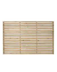 Forest Slatted Fence Panel Pack 3 J D Williams