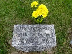 Ada Jackson (1875-1912) - Find A Grave Memorial