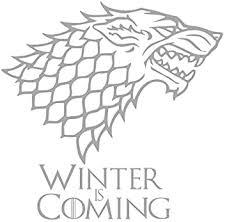 Game Of Thrones House Stark Baby Wolf Vinyl Decal Car Bumper Laptop Sticker