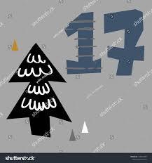 Vector Illustration Advent Calendar Page Scandibavian Stock Vector Royalty Free 1136022989