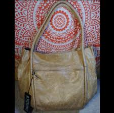 b young bags vtg byoung tan xl
