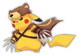 Pokemon Pikachu Bear Costume Anime Car Window Decal Sticker 004 Pikachu Anime Pokemon