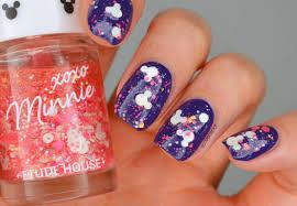 NAILS | Minnie Mouse Glitter #CBBxManiMonday