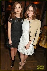 Dakota Johnson & Emilia Clarke Are Burberry Babes Before the ...