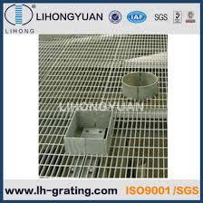 galvanized customized steel grating