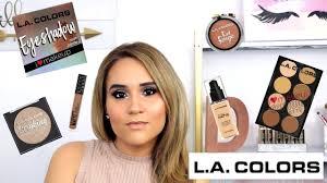 one brand makeup tutorial l a colors
