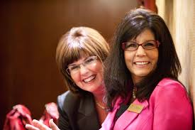 Myra Fisher and Debi Ries   2010 Economic Outlook Forum held…   Flickr