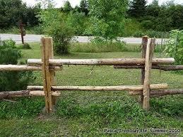 Log Fence Rustic Garden Fence Rustic Fence Garden Fence Panels
