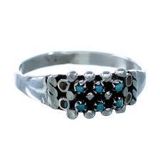zuni indian jewelry ring size 8