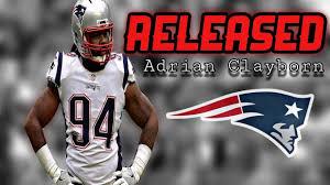 Patriots Release DE Adrian Clayborn - YouTube