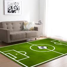 Football Field 3d Printing Carpets For Living Room Soccer Lawn Basketball Sports Mats Home Decor Carpet Kids Room Play Area Rugs Carpet Aliexpress