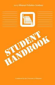 scholar handbook missouri scholars