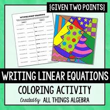 writing linear equations given two