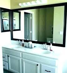 trim bathroom mirror surroundings biz