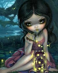 releasing fireflies by jasmine becket
