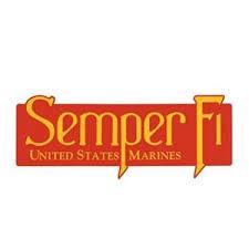 Shop U S M C Semper Fi Bumper Sticker Window Decal