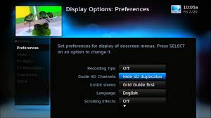 hd or sd channels in your directv guide
