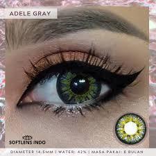 Jual Soflens Dreamcolor1 adele gray/ abu - Normal - Jakarta Utara -  SOFTLENS INDO   Tokopedia